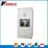 Kntechの緊急の電話Knzd-60機密保護の電話IPのビデオ電話