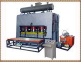 Machine chaude de presse de contre-plaqué avec le cylindre durable et platine chaude
