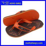 Hot Printing Sandales de plage pour hommes de mode (002-BLACK)