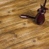 V Groove HDF AC4 piso laminado de madeira