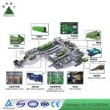 자동적인 도시 고형 폐기물 재생 공장 도시 쓰레기 분류 플랜트