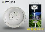 réverbère intelligent de la lampe DEL de jardin du panneau solaire 25W