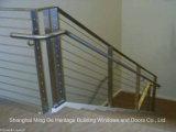 A manufatura de China faz corrimão da escada