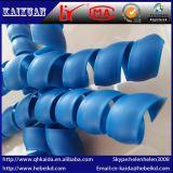 Fabricante vendendo protetores de mangueira de revestimento espiral resistentes ao desgaste direto