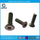 カラーZinc Plated Carbon Steel HexagonかSquare Socket Cap Countersunk Head Screw、Countersunk Bolts