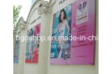 Blockout Banner, PVC Laminated Flex Banner (500dx300d 18X12) di Grey Back