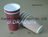 ふた(PC021)が付いている1.5-32オンスの熱い飲料の紙コップ