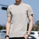 男女兼用の安い価格の100%年の綿のカスタム昇進のTシャツ