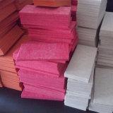 100% de fibras de poliéster Painel decorativo de parede insonorizada Acústico (PAP02)