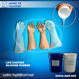 RTV2 Life Casting Silicone Rubber per Prosthesis Making