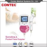 携帯用胎児の中心ドップラーContec