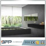 卸売のための中国の元の純粋で黒く自然な水晶石の平板