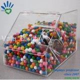 Bak van het Suikergoed van de Automaat van de Lepel van het Suikergoed van de Doos van het Suikergoed van de Vorm van het Huis van de Winkel van de vloot de Plastic Duidelijke Acryl