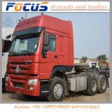 Preiswerter Cnhtc Primärkraft-Traktor-LKW für Portterminalbehälter Hualing 6X4