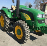 Front端LoaderおよびBackhoeの100HP 4WD Farm Tractor