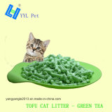 El té verde El Tofu arena de gato con Easy Scoop (YYLD02)