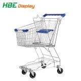 Chariots de supermarché avec siège enfant