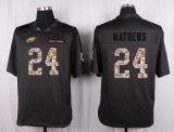 Pullover grigio di football americano del nero dell'elite di Filadelfia Carson Wentz Brian Dawkins Ryan Mathews dei bambini dei capretti delle donne del Mens, abitudine qualsiasi nome qualsiasi numeri