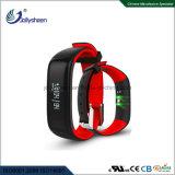 Super inteligente de precisão a pressão arterial Coração Ratio Bracelete Pulseira inteligente