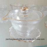 De gouden-omrande Kop van het Glas voor High-End het Gebruik en de Decoratie van het Huis