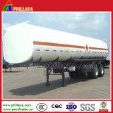 3車軸20-60m3任意選択石油タンカーおよび半燃料タンクのトレーラー