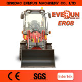 2017 mini chargeur d'Everun Er08, 800kg Kapazitat, MIT Balenklemme