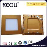 Il CREE rotondo Bridgelux SMD di IP44 Dimmable dimagrisce l'indicatore luminoso di comitato del LED