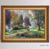 Europäischer Art-Bilderrahmen-Foto-Rahmen-dekorative Künste steuern Dekor automatisch an