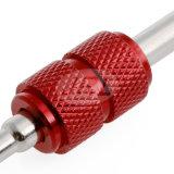 Двойной инструмент ремонта автошины перевозчика сердечника стержня клапана автошины автомобиля конца
