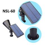 Nsl-04 4 LEDS de luz solar césped 200lm