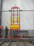 Top spin Platform Industrial Face lift Equipment for Booth Spray