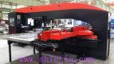 Máquina de perfuração da torreta do CNC (vermelho + cor preta)