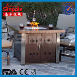Gas de acero inoxidable Fire Pit Table (KLD4001SS)