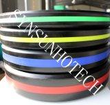 색깔 지구를 가진 고품질 검정 색깔 훈련 고무 풍부한 격판덮개