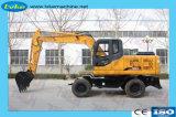 Fabricante chino medio de la máquina excavadora de cadenas de excavación 12-14 ton.