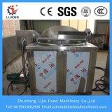 La pression des gaz friteuse avec la commande de température