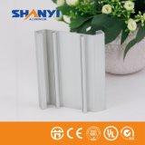 L'alluminio di rivestimento del laminatoio profila l'espulsione di alluminio per la scanalatura di industria del portello della finestra