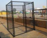 jaula del perro del acoplamiento de alambre de los 6ftx10FT/perrera soldadas acero grande del perro