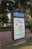 Casella chiara di rotolamento per la pubblicità (HS-LB-119)