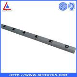 6063 Profil en aluminium anodisé argent