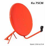 Ku 75cm de Antenne van de Schotel (cHW-Ku75-M)