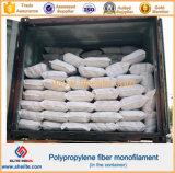 Fibre de maille de polypropylène à haute résistance à la résistance aux rayons UV