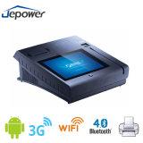 Todos em uma posição do leitor de cartão do crédito/débito lavram o sistema com Bluetooth WiFi 3G