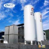Réservoir de stockage industriel d'argon de liquide cryogénique d'usine