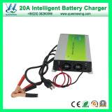 20A 24V rapidement en 4 étapes de charge chargeur de batterie plomb-acide (QW-B20A24)