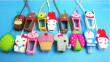 29 ml 3D Animal Portable Antibacterial Silicone Hand Sanitizer Bottle Holder