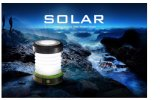 Hot Sale New Outdoor Portable Solar LED Camping Lantern