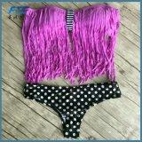 Beachwear del bikini di modo dello Swimwear delle donne delle nappe