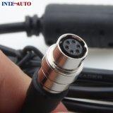 DC a Hirose 6 Pin conector rojo del cable de alimentación de batería de la cámara Epic