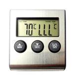 Cocinar los alimentos Digital termómetro de carne con sonda de temperatura de acero inoxidable